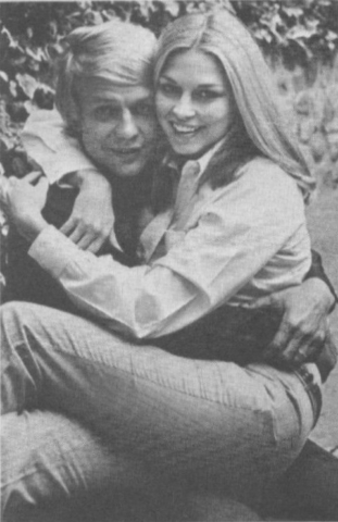 Karen Carlson with former husband David Soul